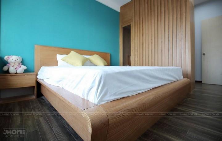 Phòng ngủ gỗ sồi