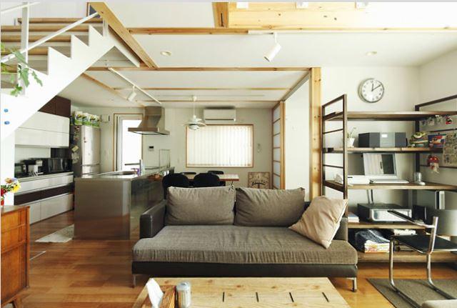 Mẫu phòng khách không gian nhỏ