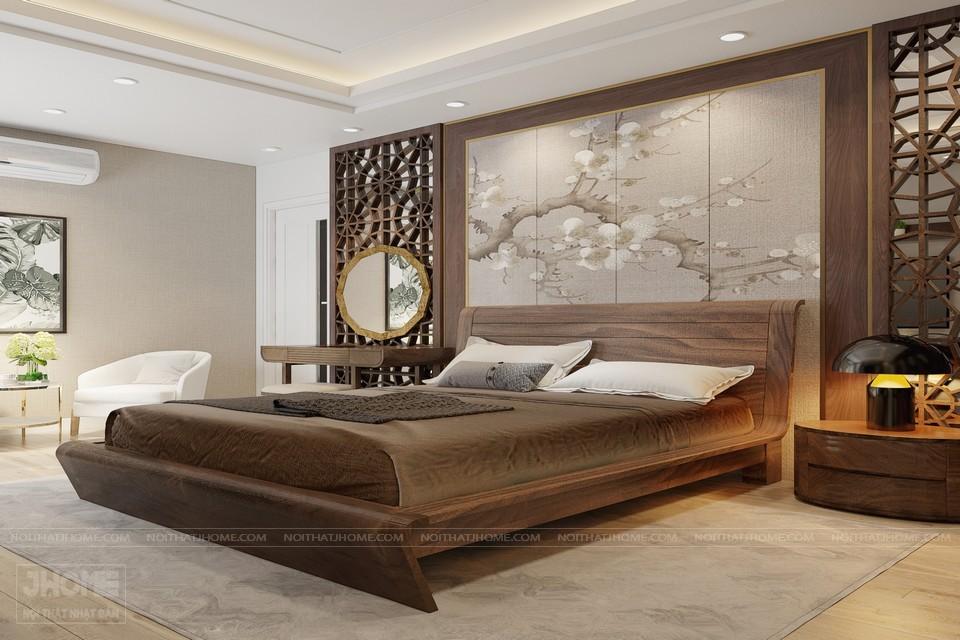 nội thất phong cách sang trọng phòng ngủ